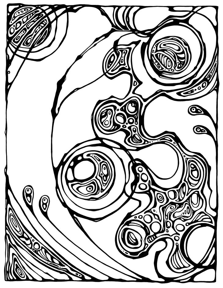 Colorganic: A Coloring Book of Organic Shapes and Forms – Angie Lister