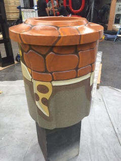 Turtle trash can for Snapchat